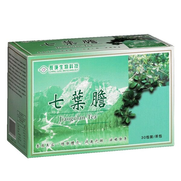 長庚生技 七葉膽茶(30包/盒)x1