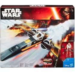 (卡司 正版現貨)孩之寶 星際大戰 Star Wars 3.75吋 交通工具組 載具 X-Wing 波.戴姆倫 PDE Dameron