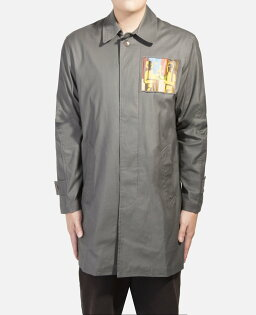JUICE:【CLOT】APPLIQUETRENCHCOAT18S401-GY