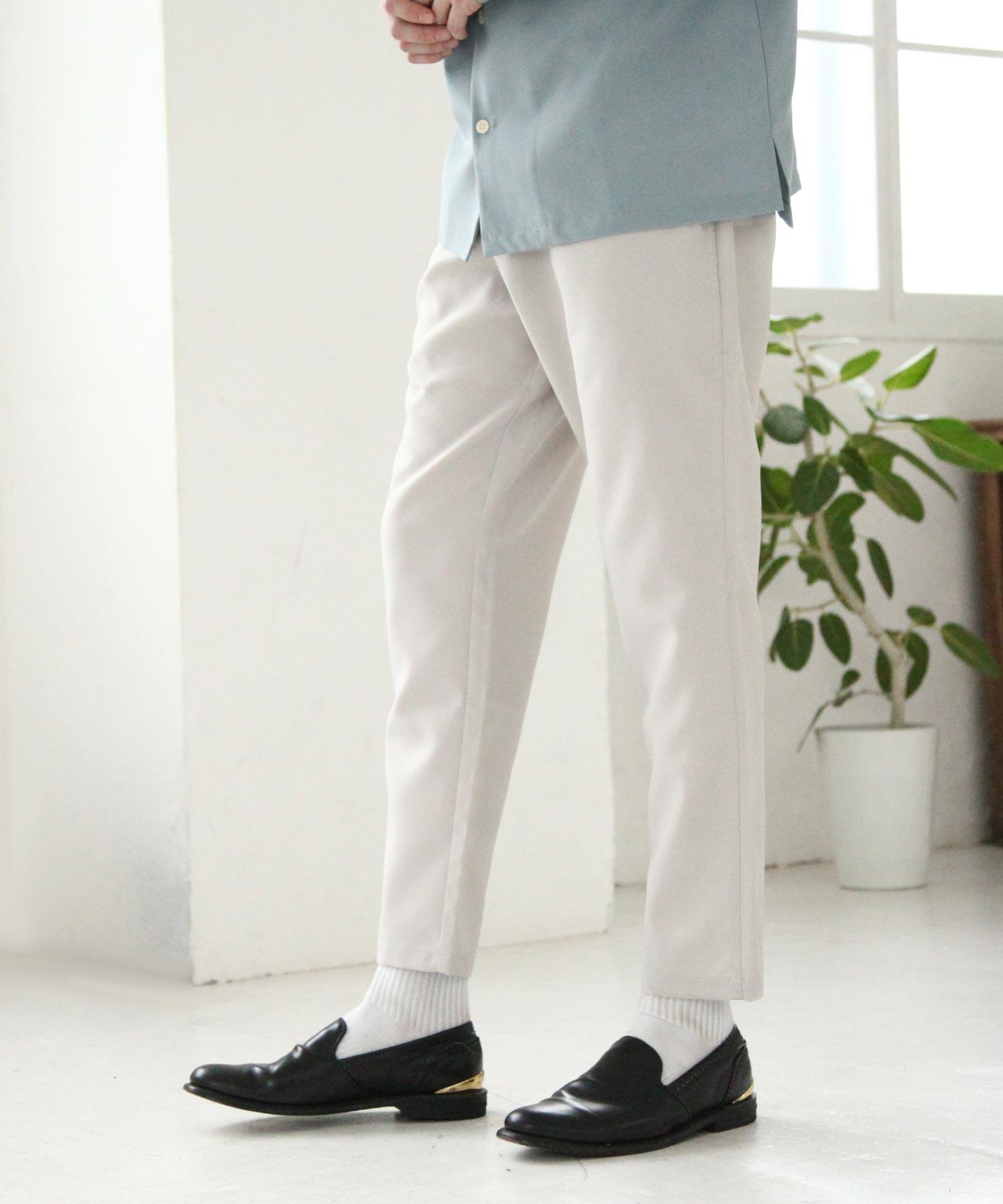 【Nilway】梳毛鬆緊褲 4