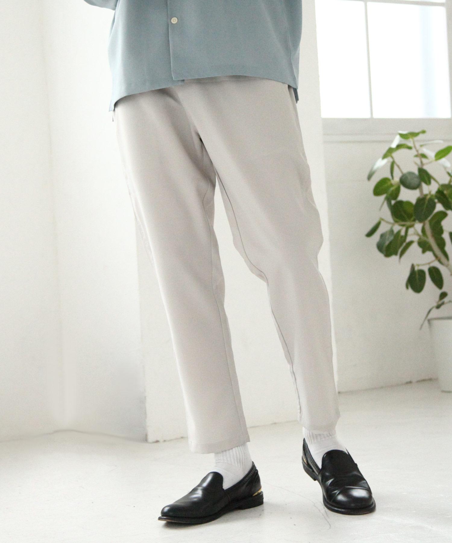 【Nilway】梳毛鬆緊褲 1