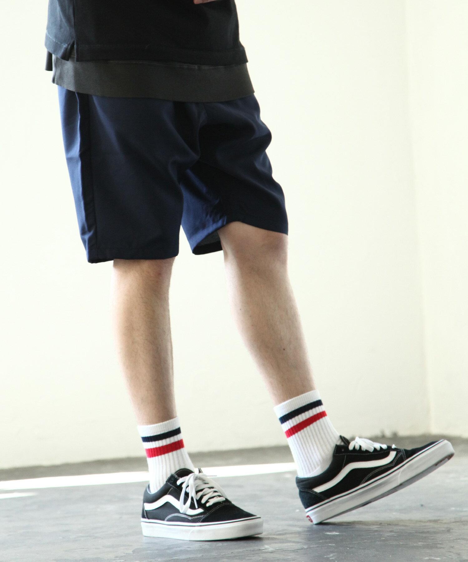 【Nilway】混紡鬆緊短褲 4