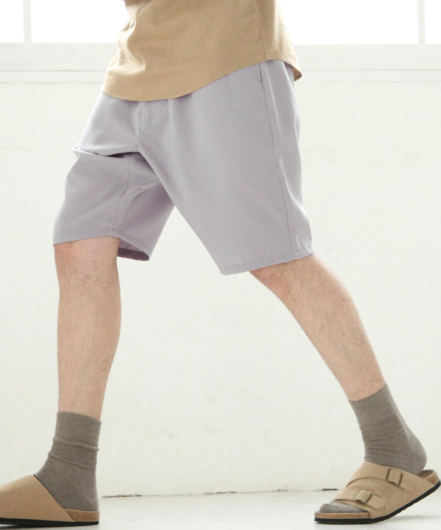 【Nilway】混紡鬆緊短褲 5