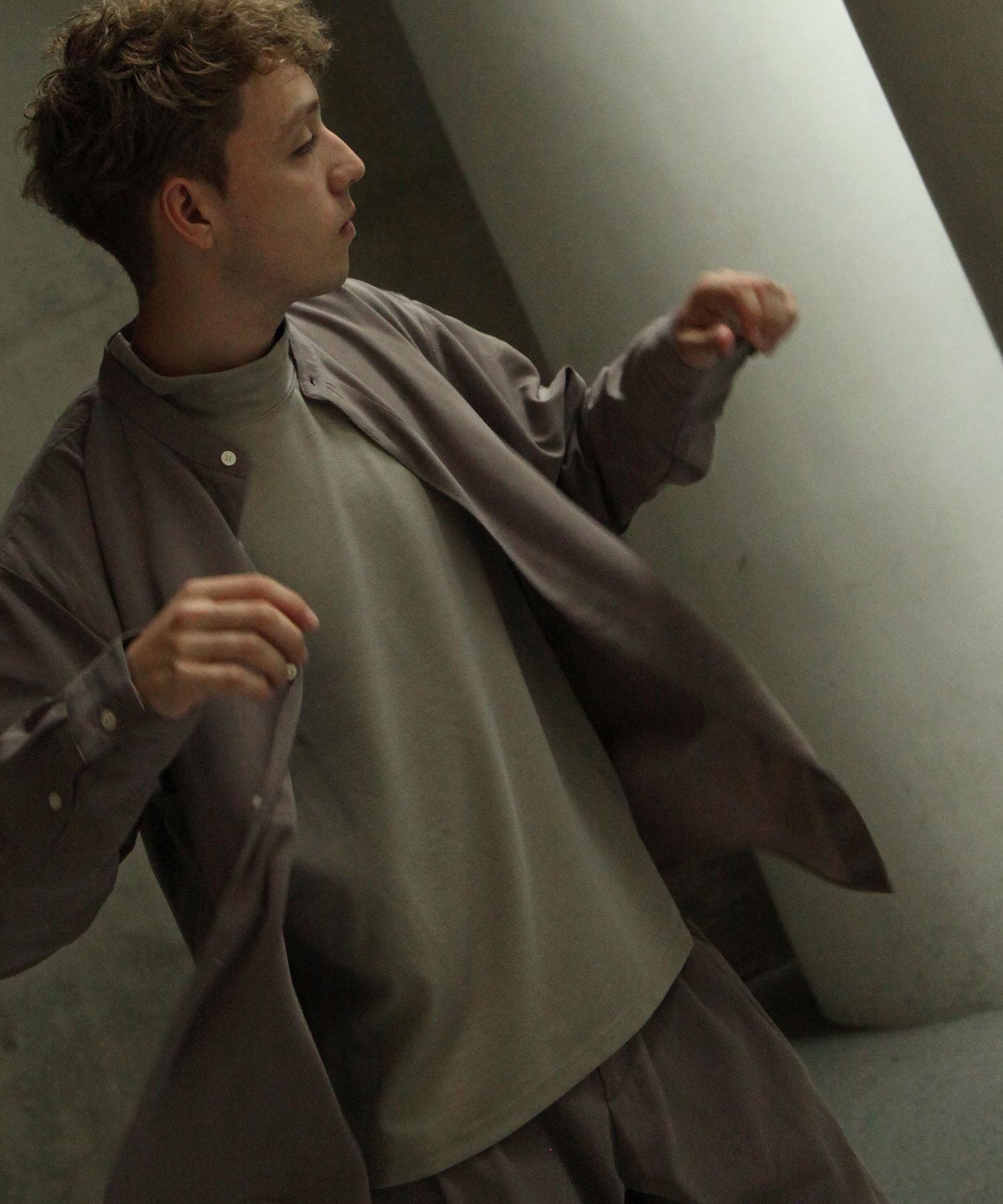 【Nilway】長袖立領襯衫 7