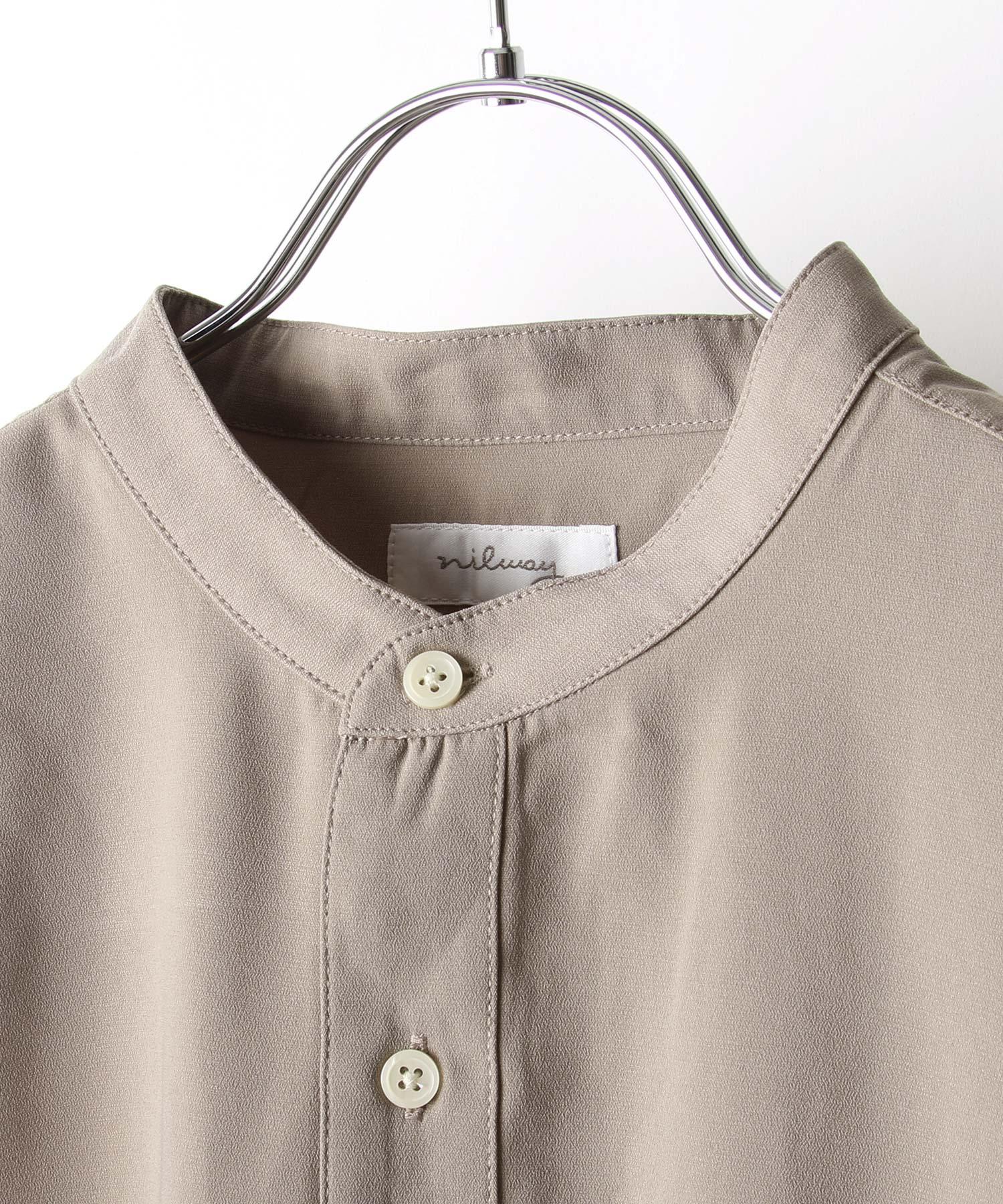 【Nilway】長袖立領襯衫 4