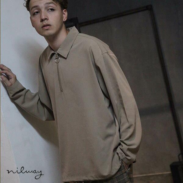 【Nilway】半拉鍊套頭衫 0