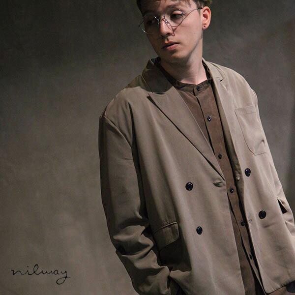 【Nilway】雙排釦西裝夾克 0