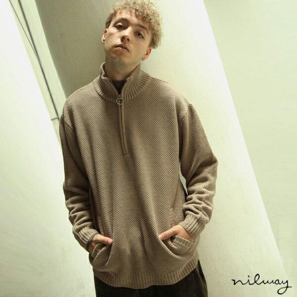 【Nilway】半拉鍊針織衫 0