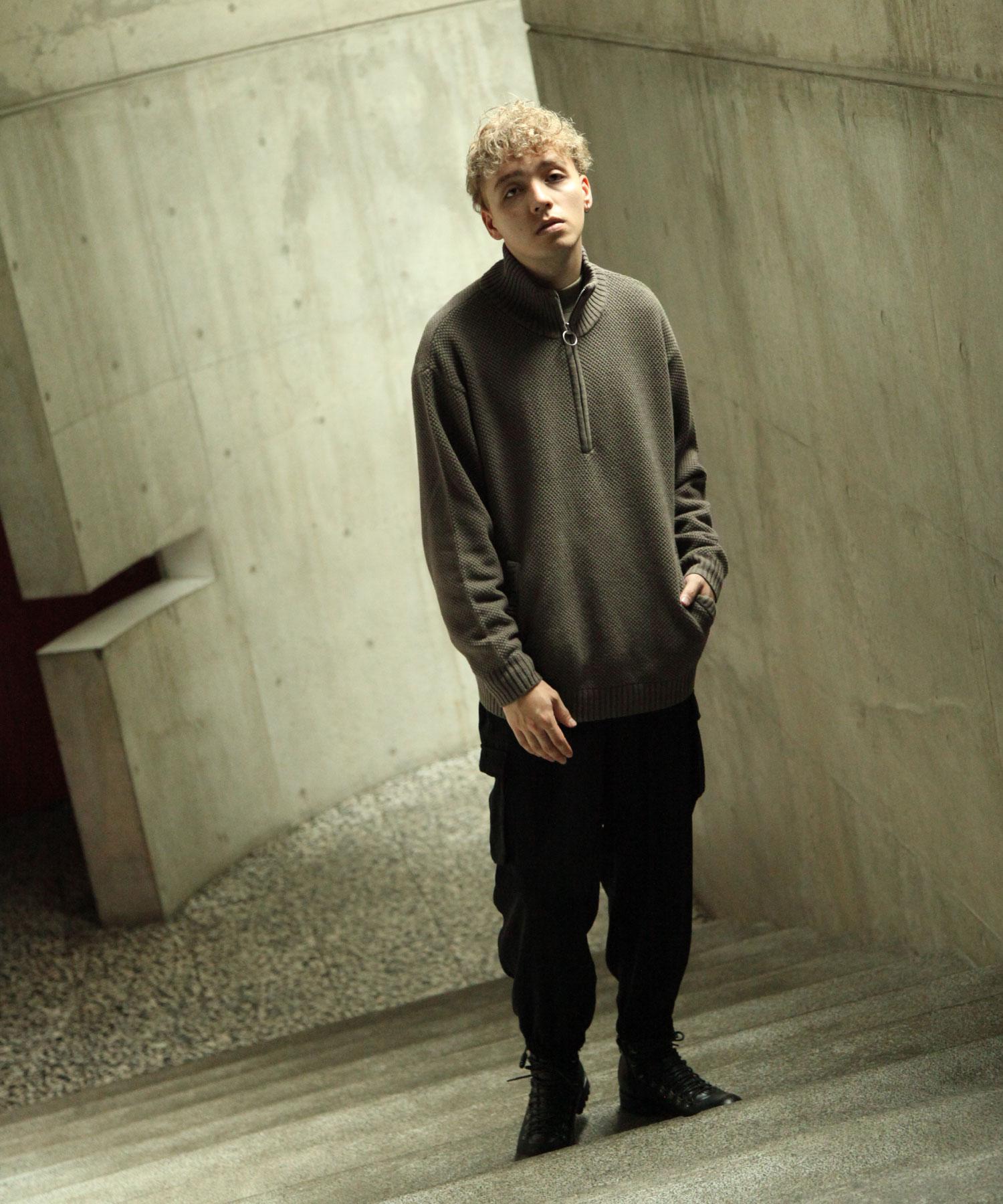 【Nilway】半拉鍊針織衫 7