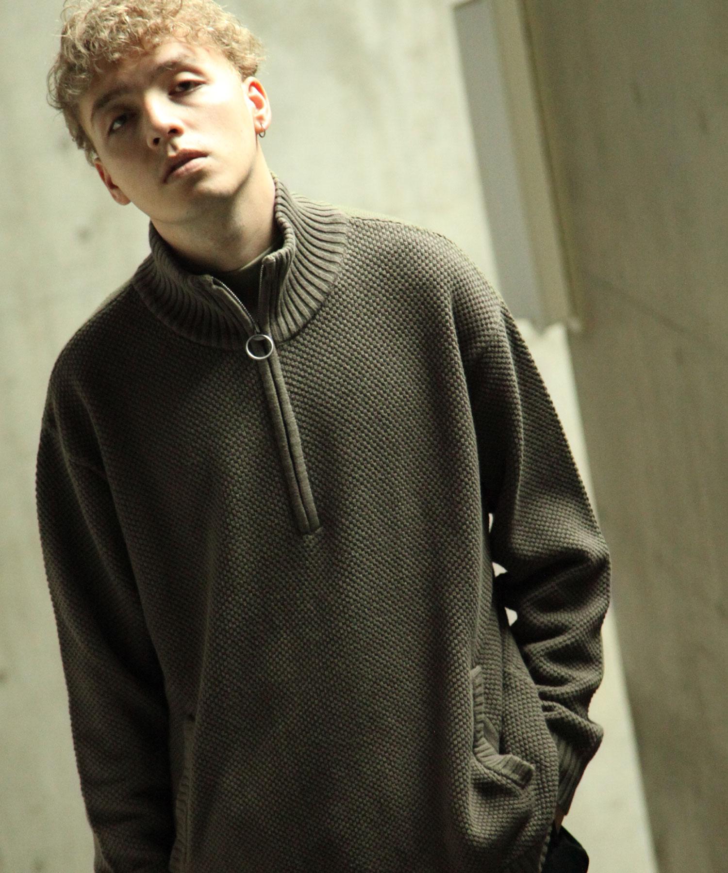 【Nilway】半拉鍊針織衫 1