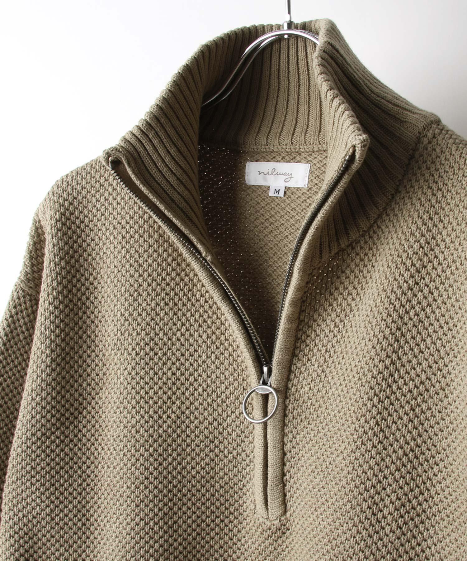【Nilway】半拉鍊針織衫 4