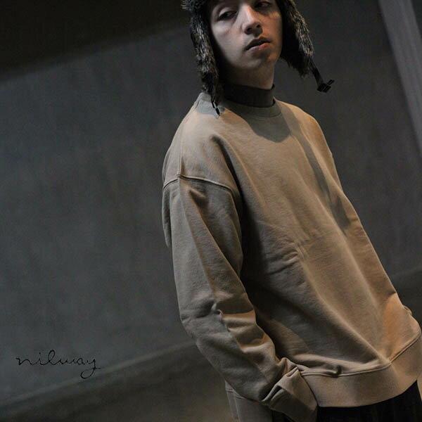 【Nilway】運動衫 純棉 衣襬開岔 0