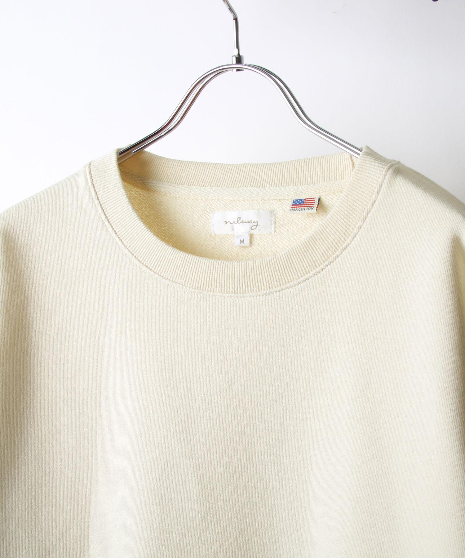 【Nilway】運動衫 純棉 衣襬開岔 4