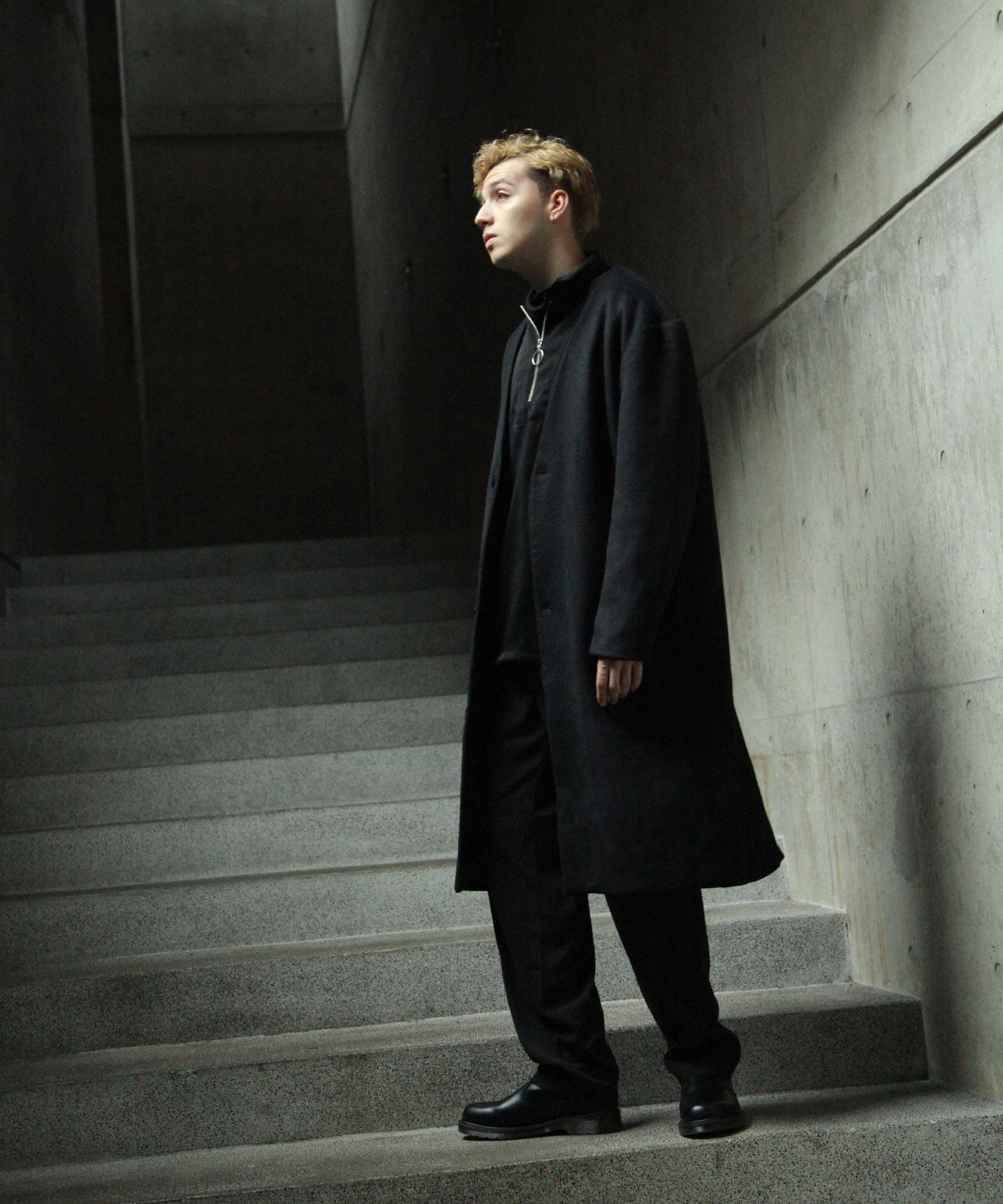 【Nilway】無領羊毛大衣 6