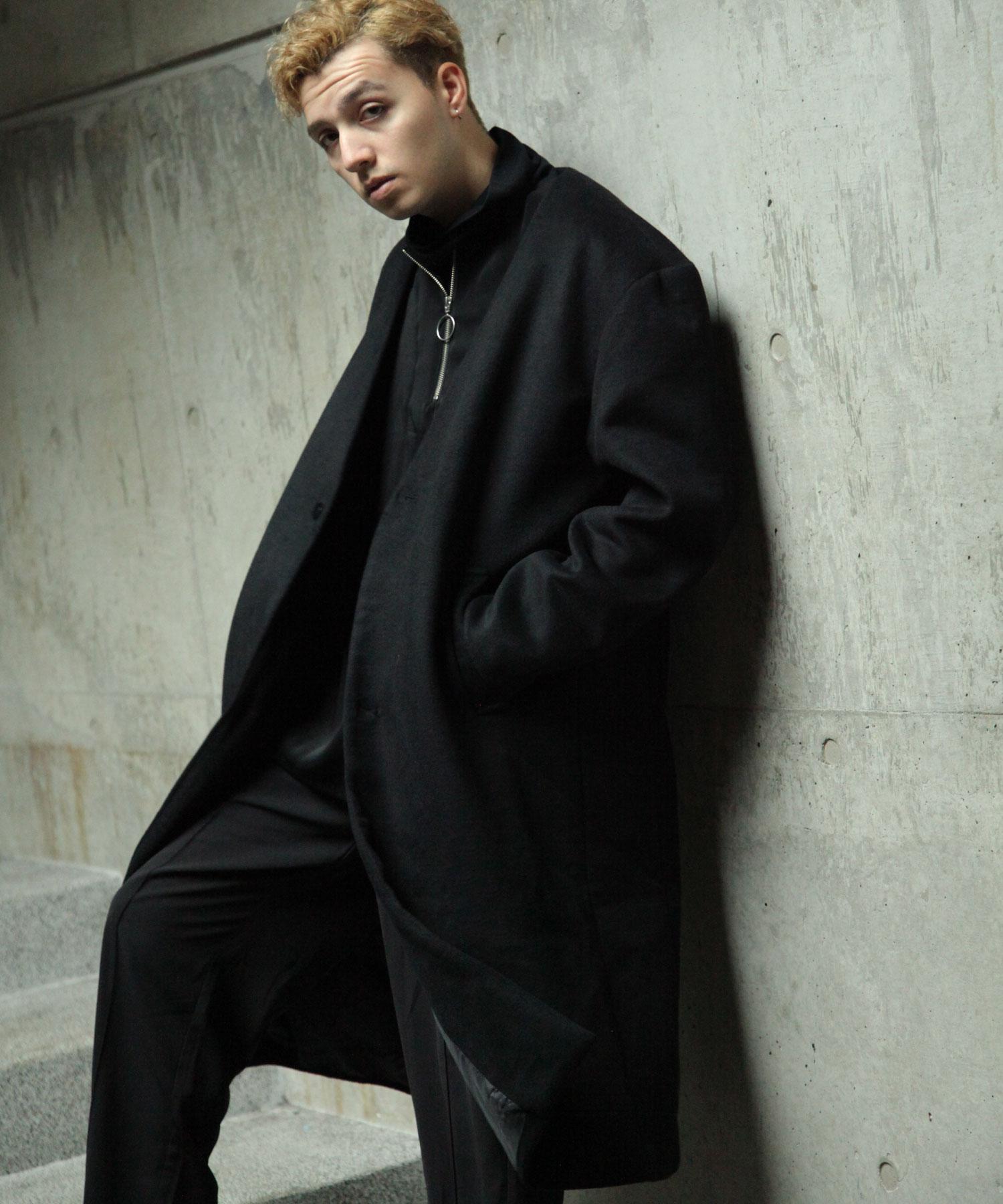 【Nilway】無領羊毛大衣 1