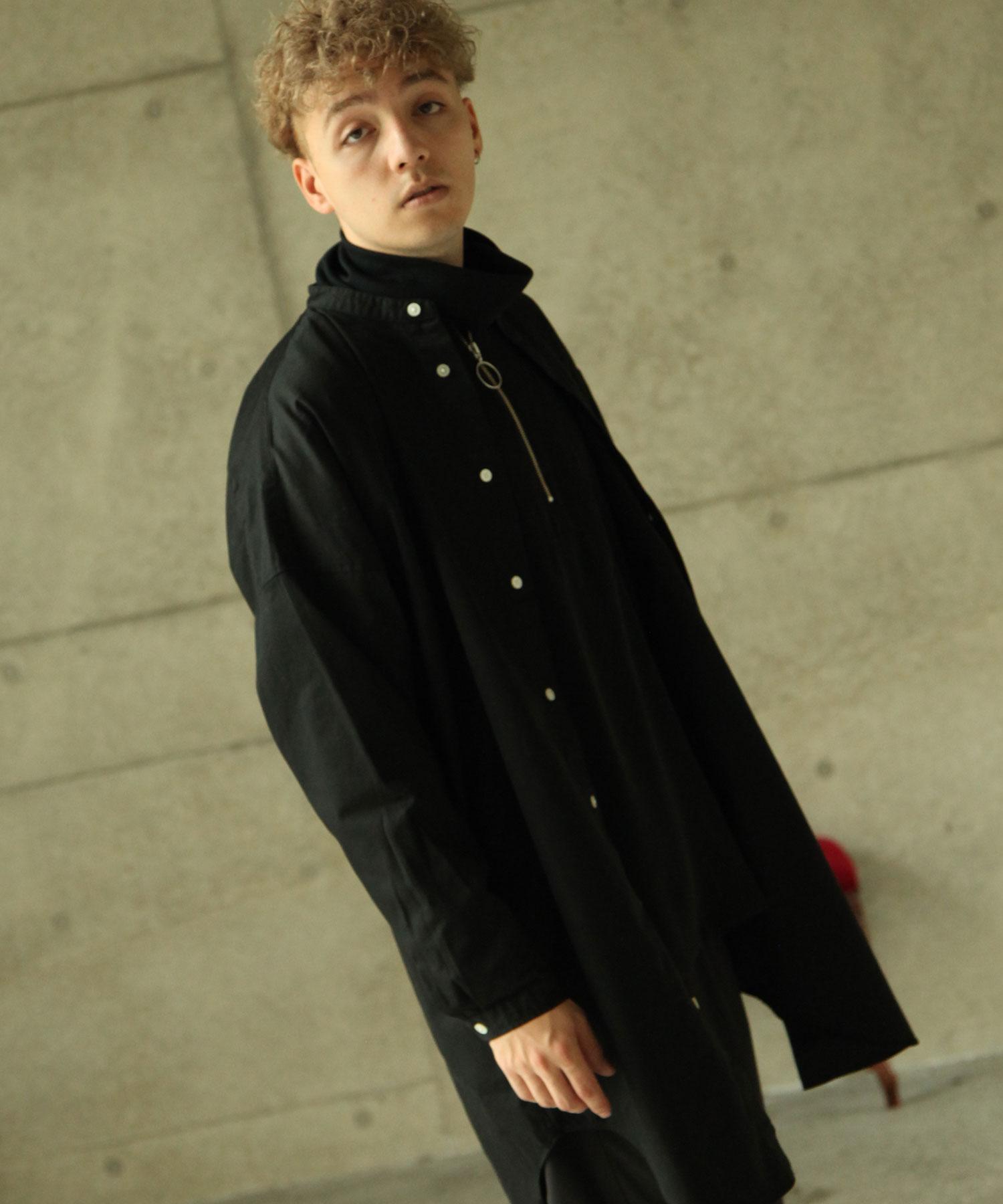 【Nilway】無領襯衫大衣  純棉 7
