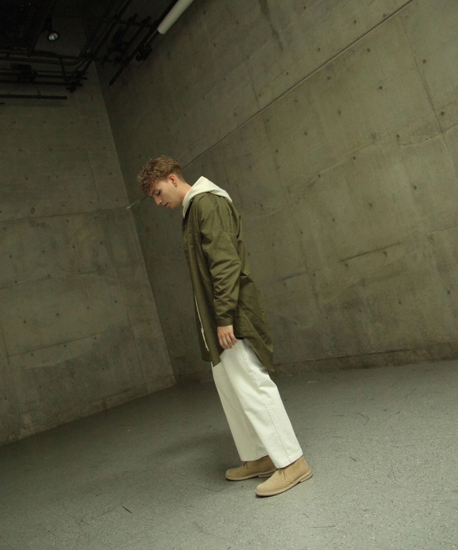【Nilway】無領襯衫大衣  純棉 8