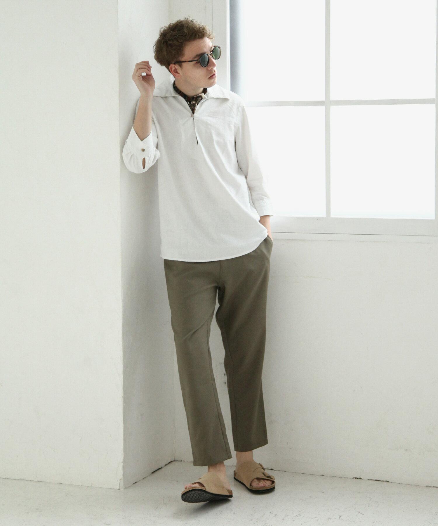 【Nilway】七分袖棉麻套頭衫 2