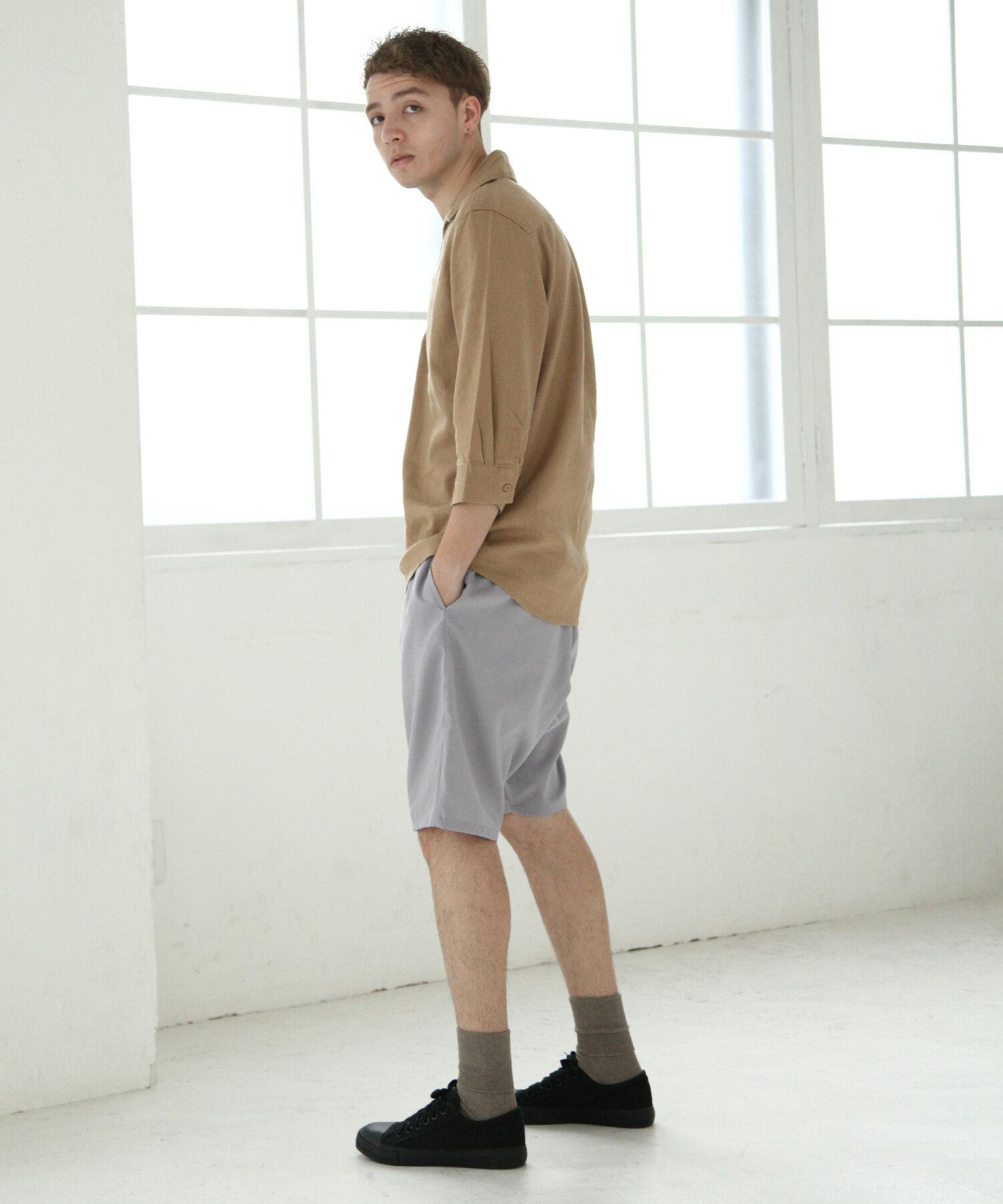 【Nilway】七分袖棉麻套頭衫 5