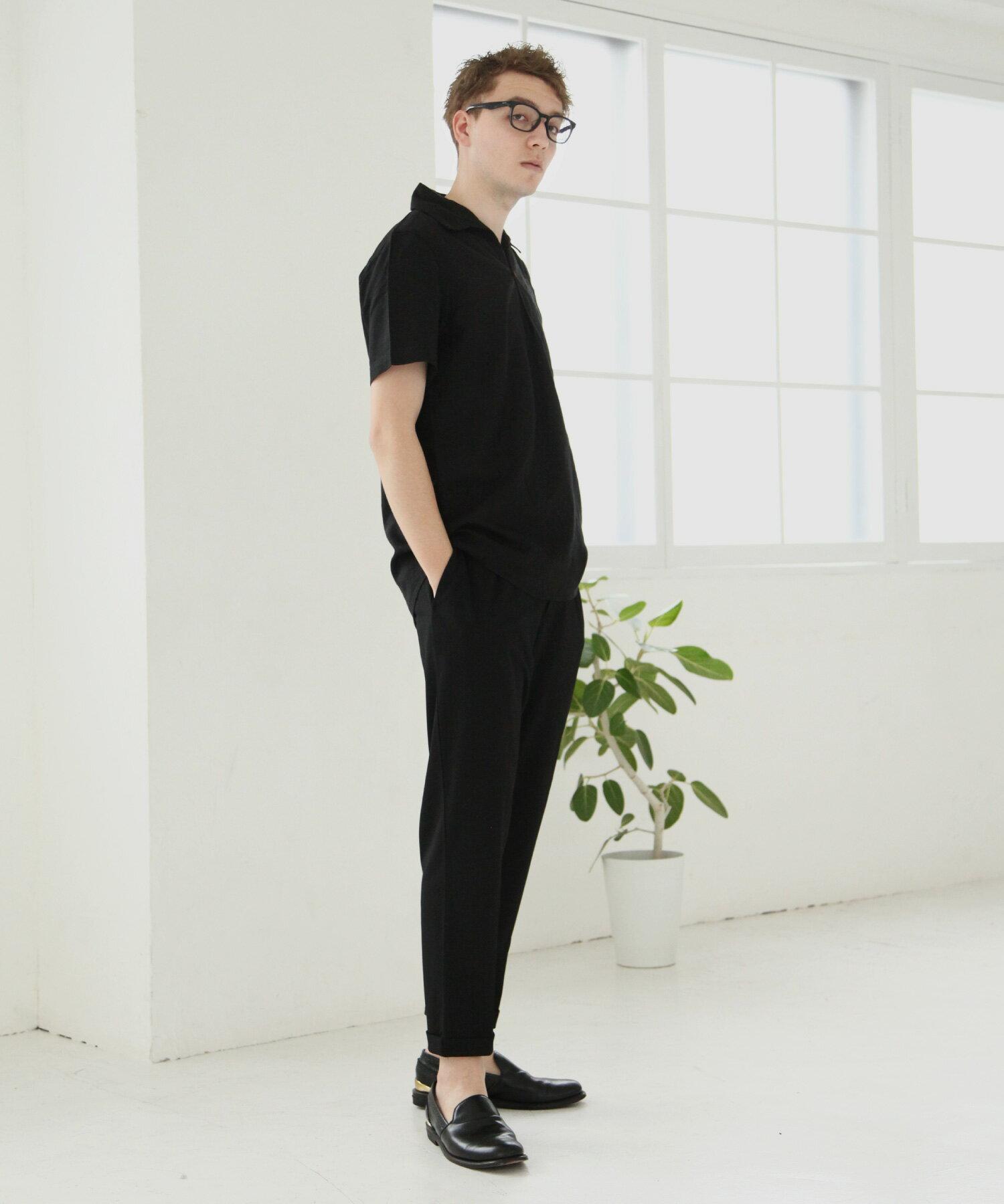 【Nilway】短袖棉麻套頭衫 2
