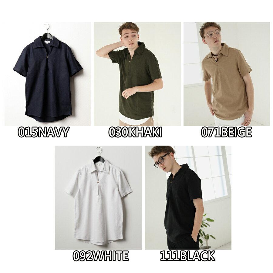 【Nilway】短袖棉麻套頭衫 7