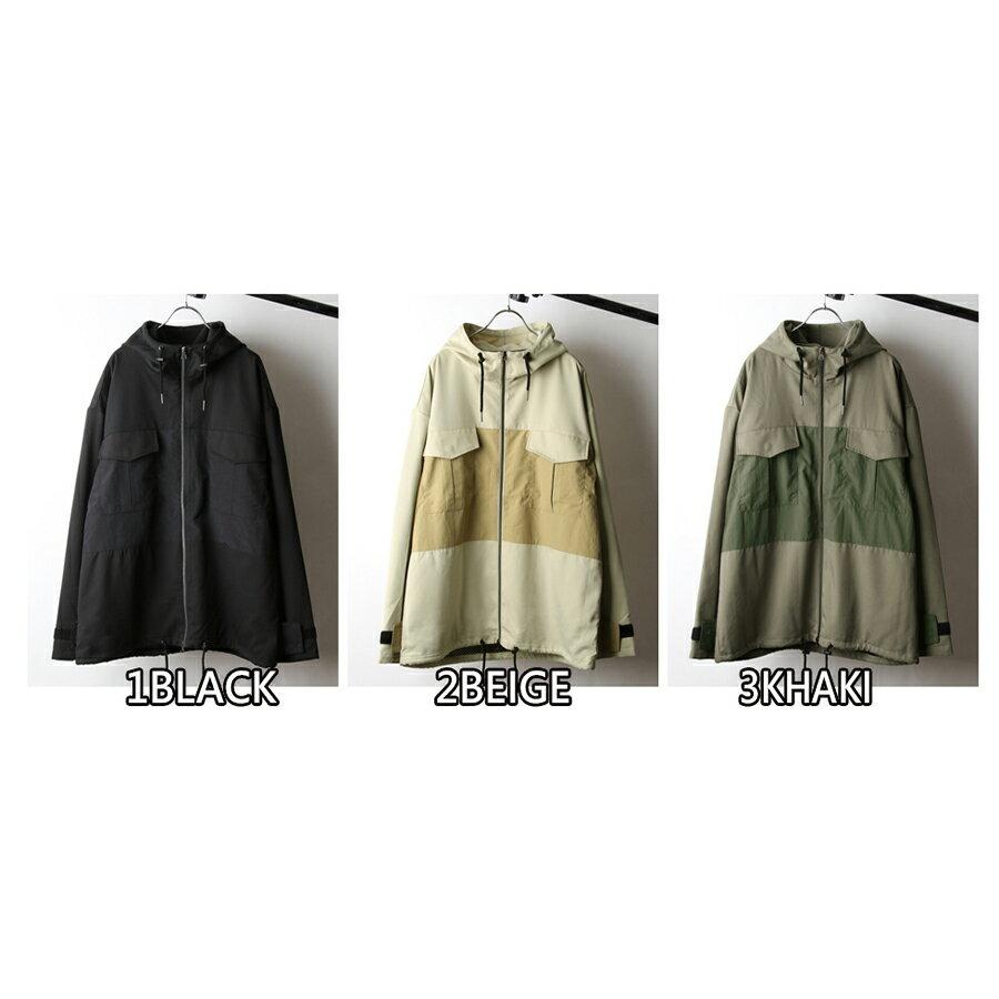 【Nilway】異素材拼接登山夾克 2