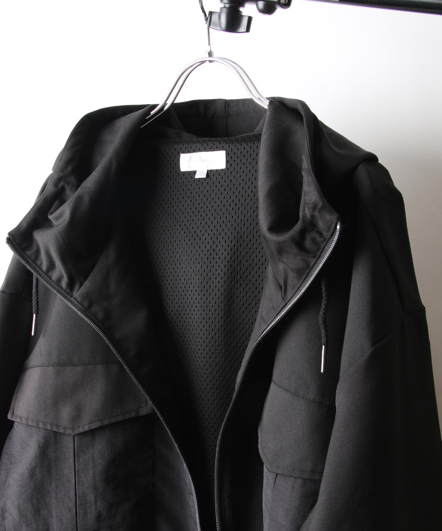【Nilway】異素材拼接登山夾克 4