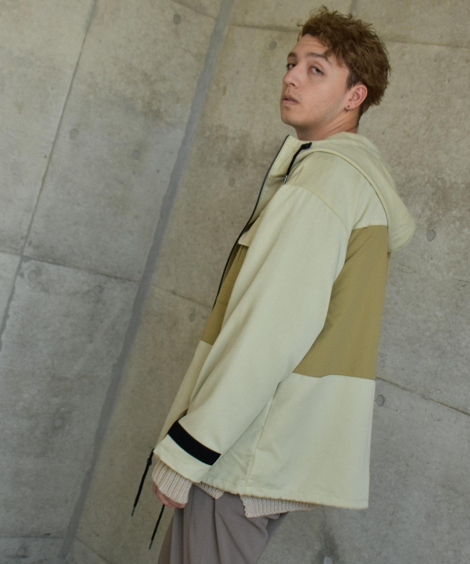 【Nilway】異素材拼接登山夾克 7