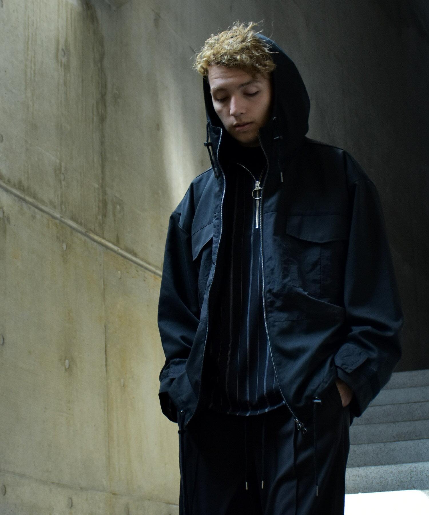 【Nilway】異素材拼接登山夾克 8