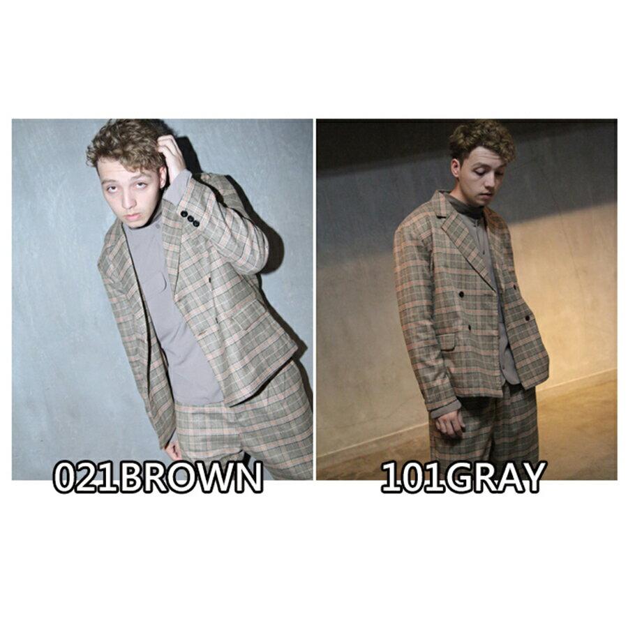 【Nilway】經典格紋西裝夾克 2