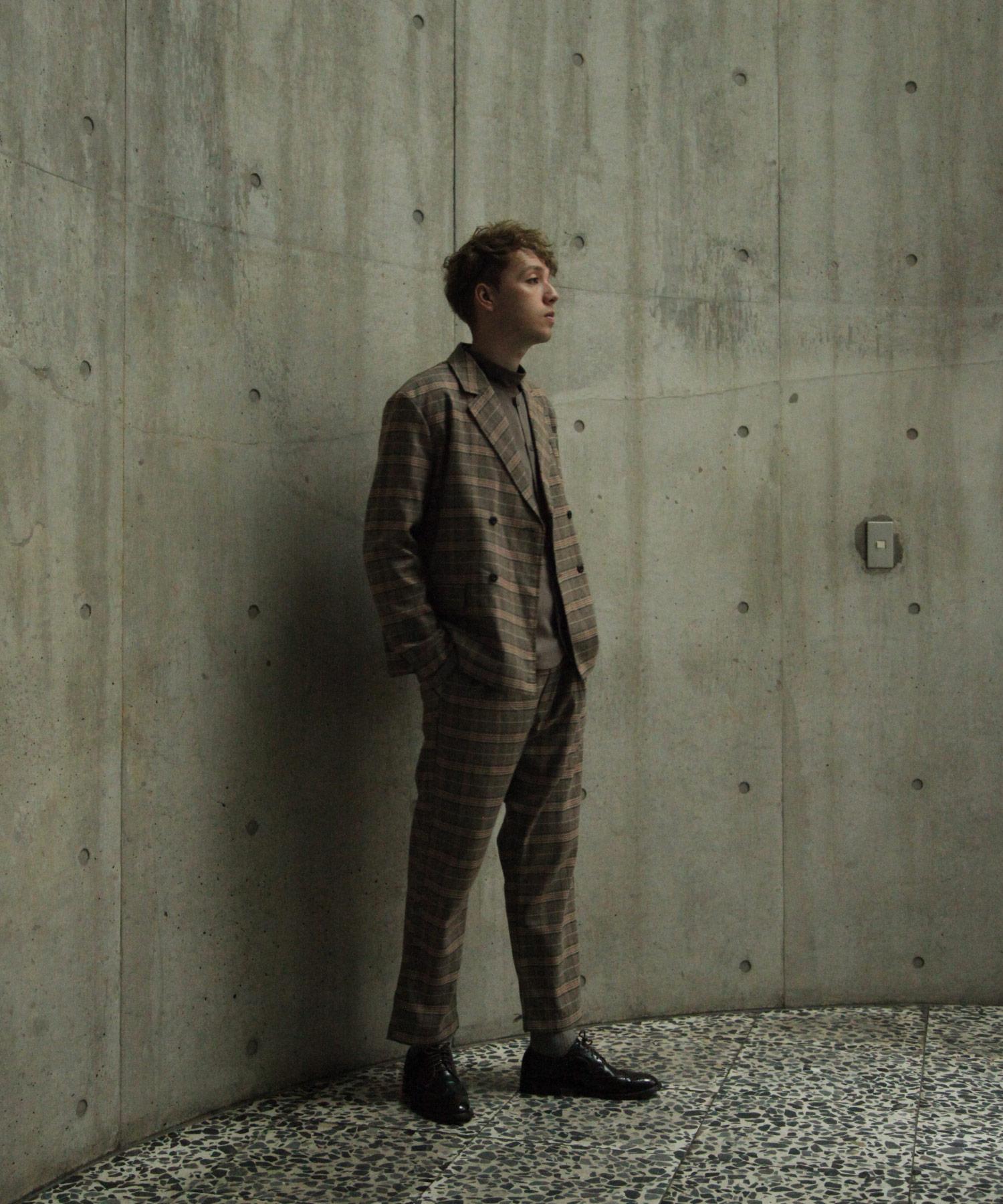 【Nilway】經典格紋西裝夾克 4