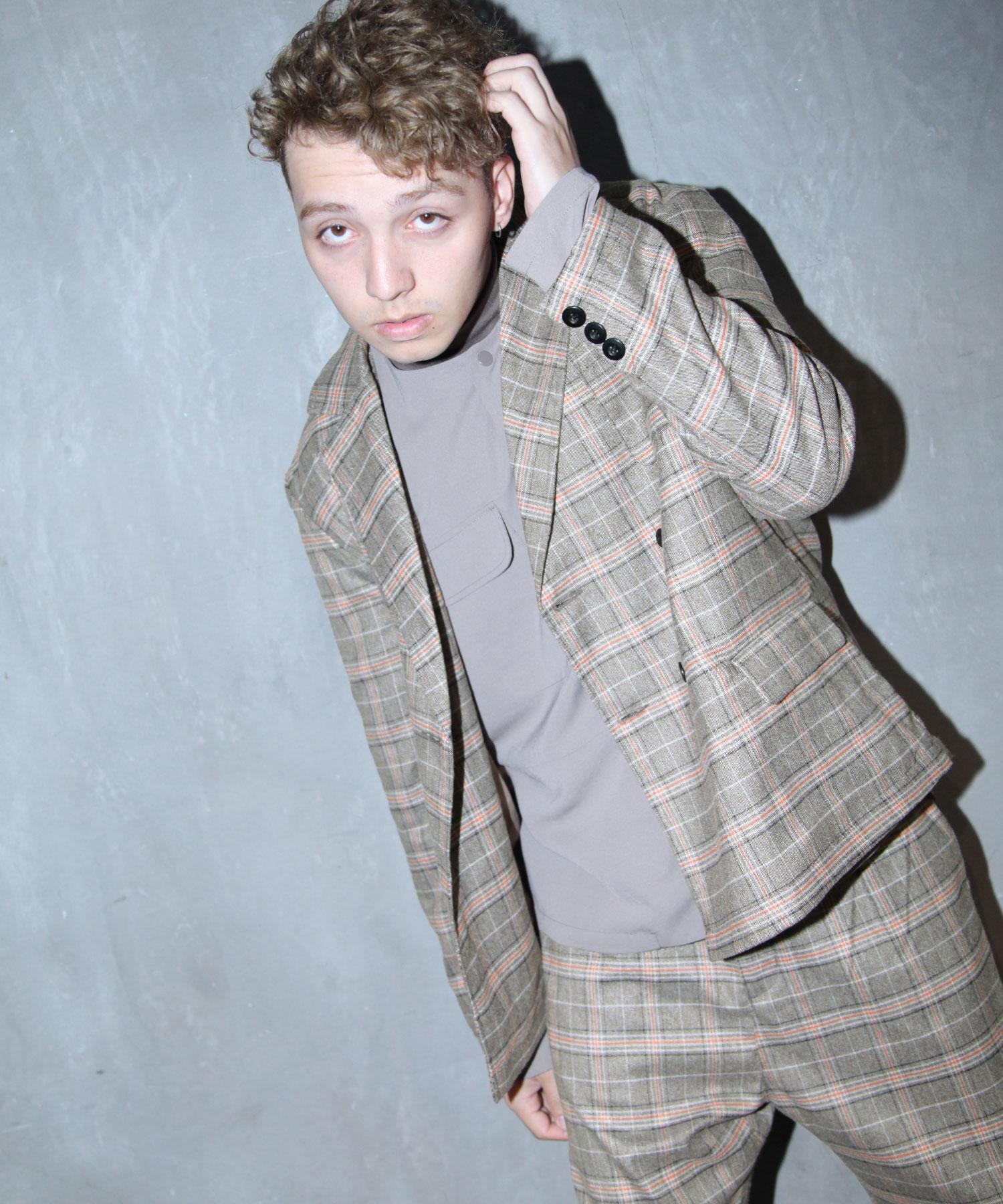 【Nilway】經典格紋西裝夾克 1