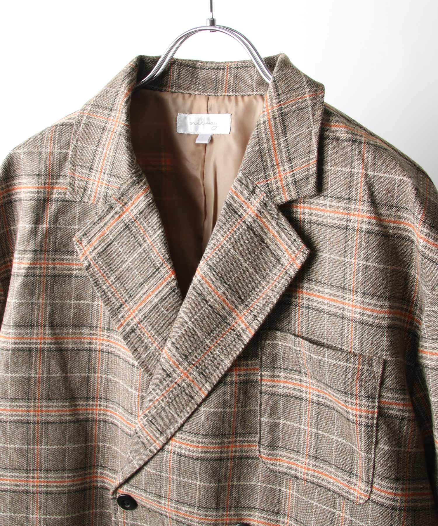 【Nilway】經典格紋西裝夾克 5