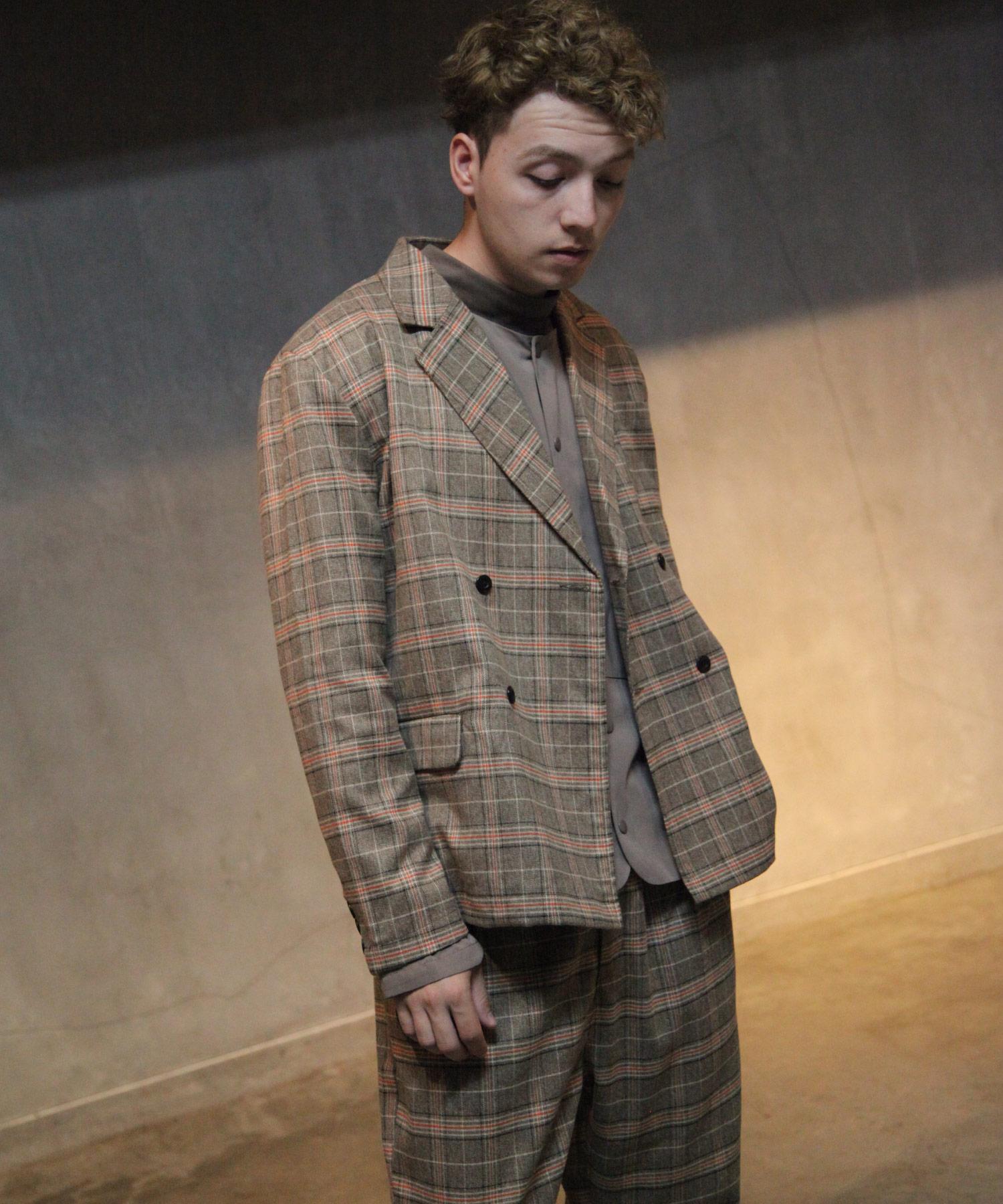 【Nilway】經典格紋西裝夾克 6