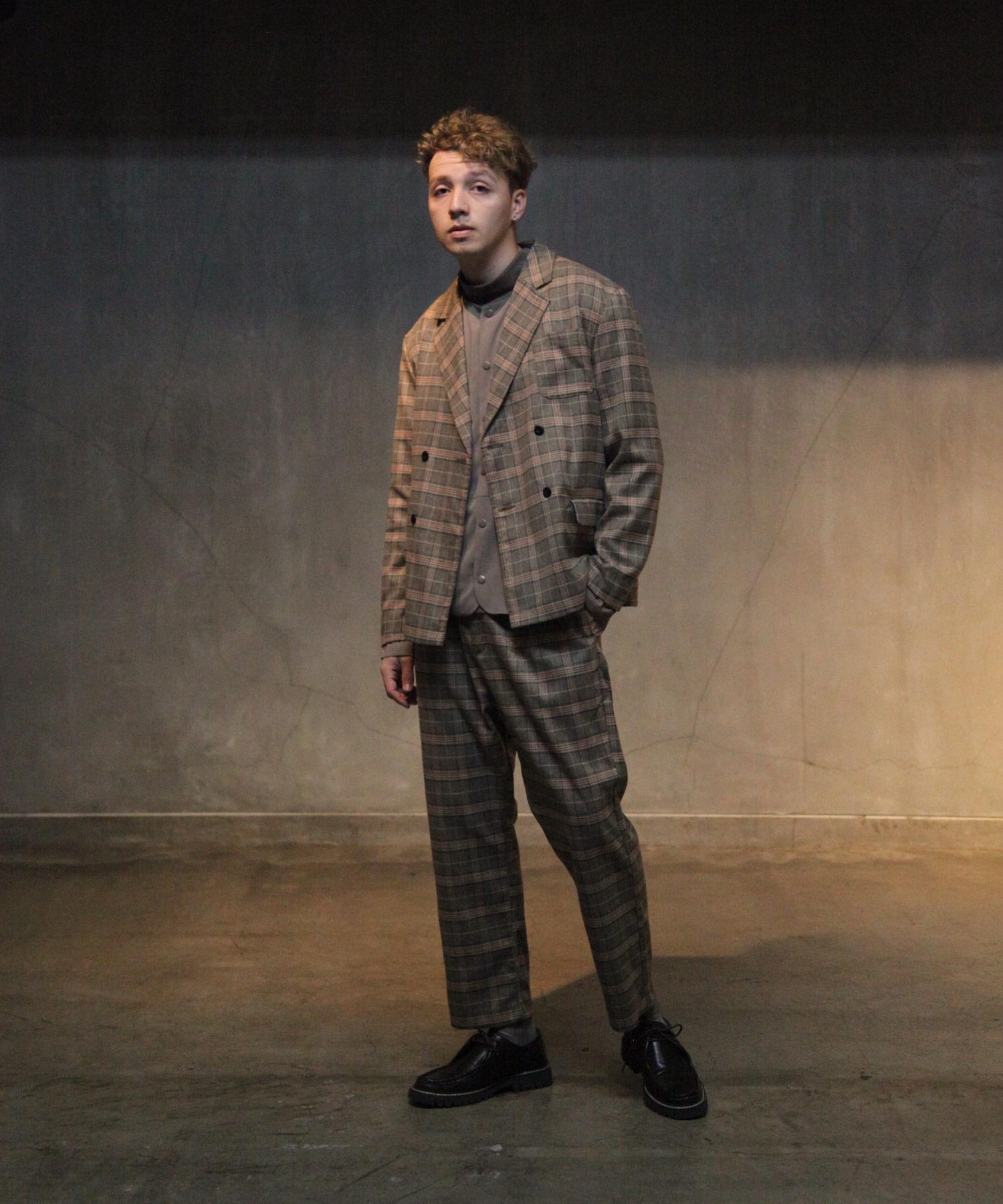【Nilway】經典格紋西裝夾克 7