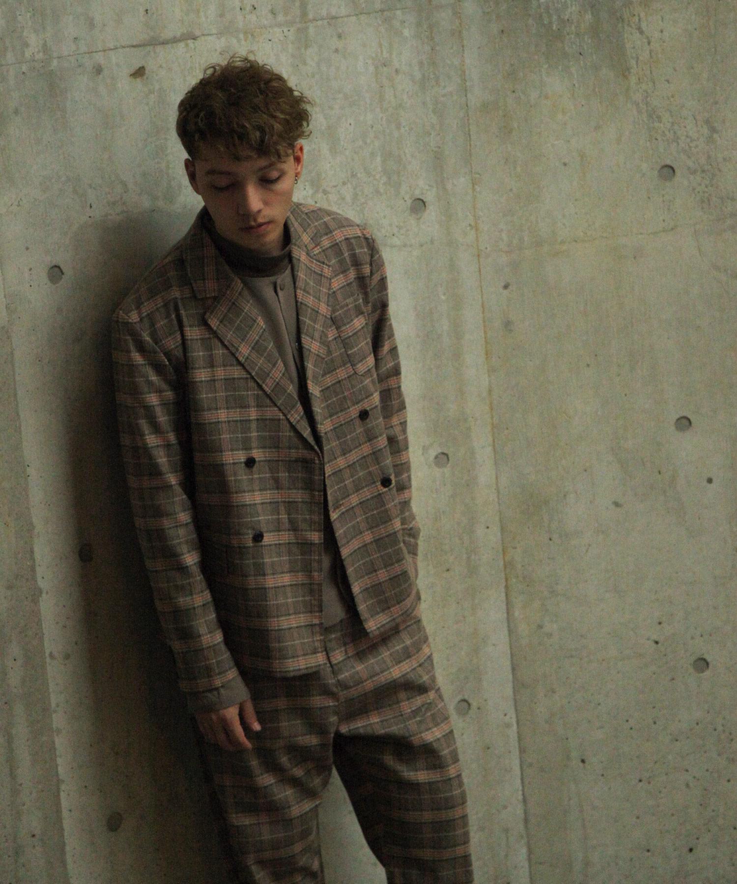 【Nilway】經典格紋西裝夾克 8