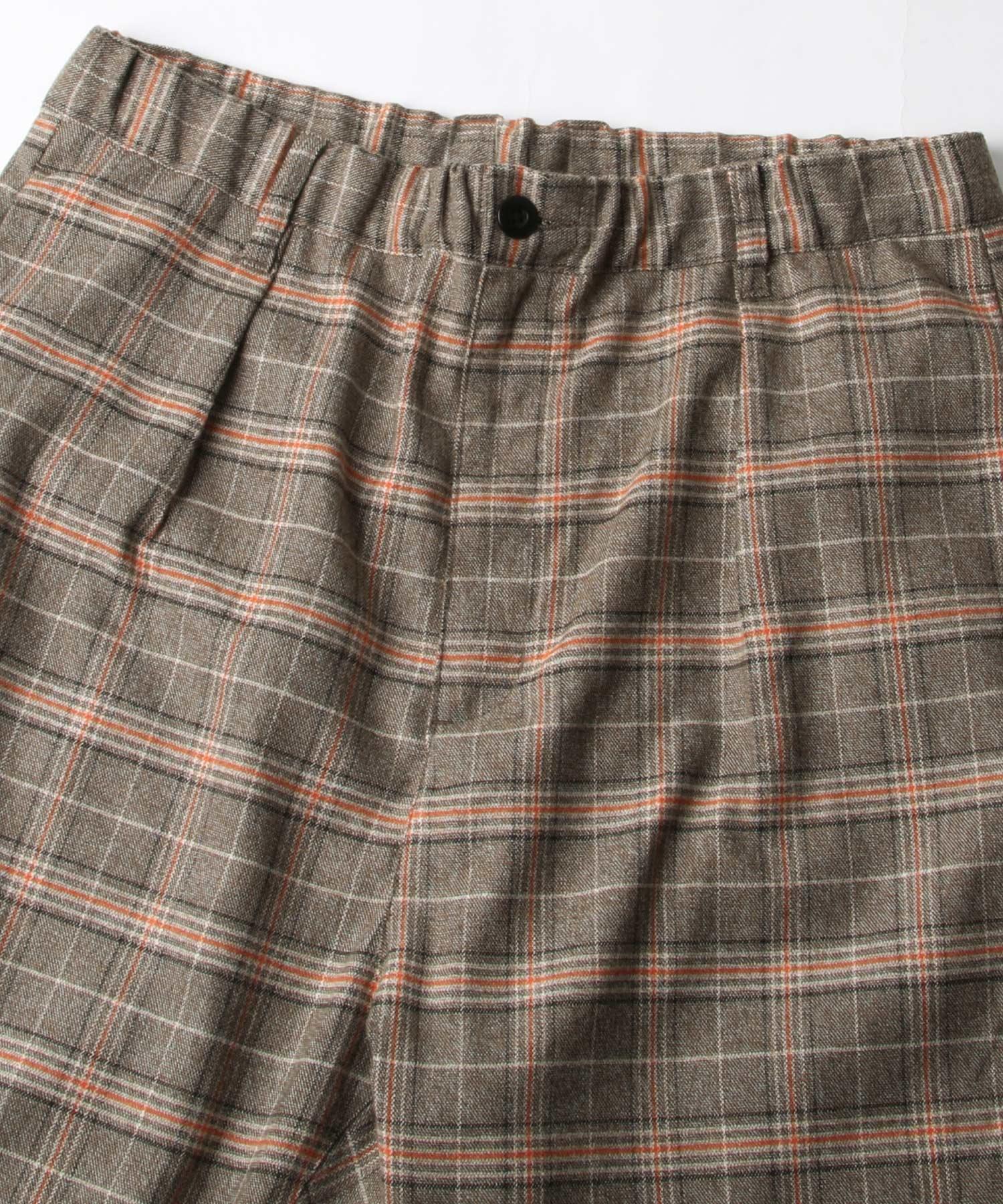 【Nilway】經典格紋錐形褲 西裝褲 4