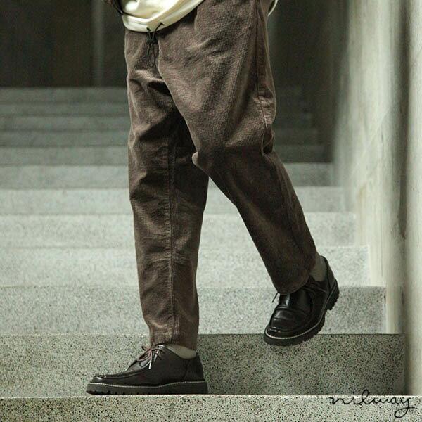 【Nilway】燈芯絨氣球褲 錐形褲 0