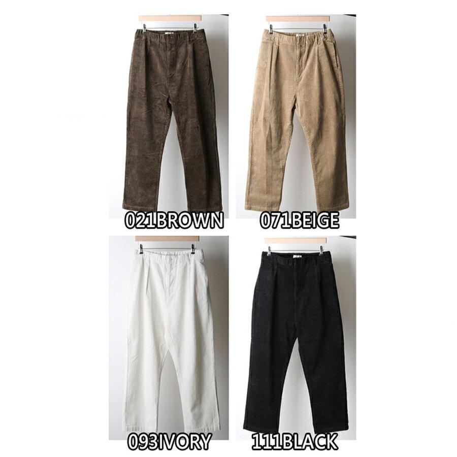 【Nilway】燈芯絨氣球褲 錐形褲 2