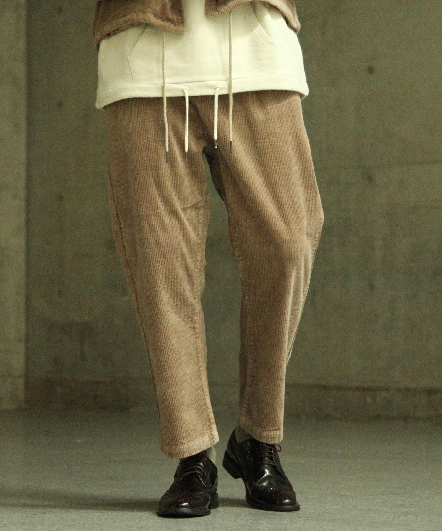 【Nilway】燈芯絨氣球褲 錐形褲 1