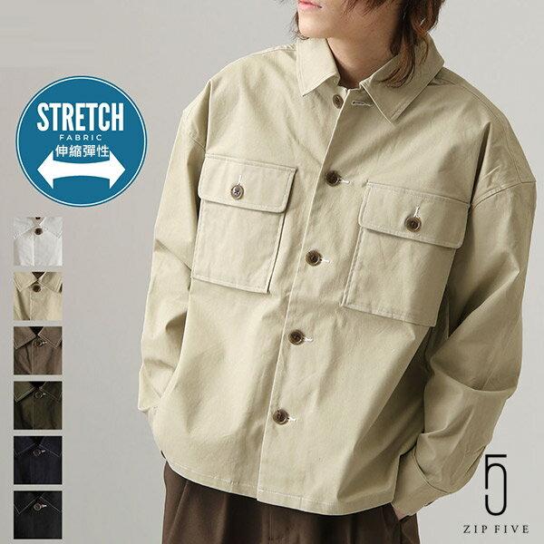 【New】ZIP CPO襯衫外套 Oversize 0