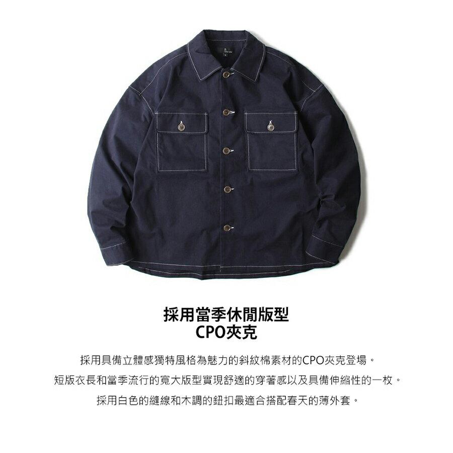 【New】ZIP CPO襯衫外套 Oversize 9