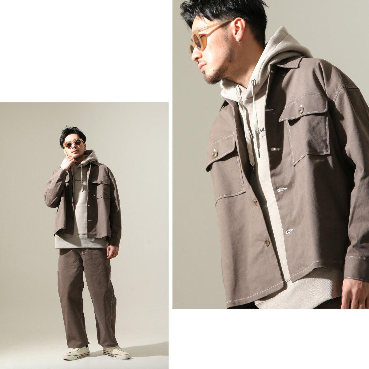 【New】ZIP CPO襯衫外套 Oversize 5