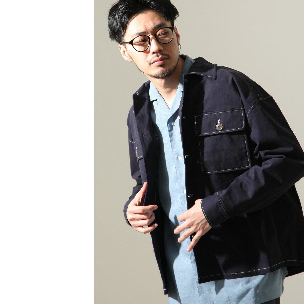 【New】ZIP CPO襯衫外套 Oversize 1