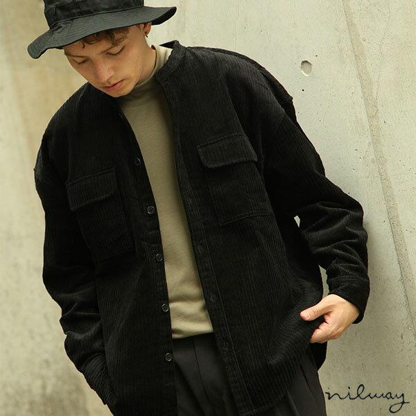 【Nilway】長袖襯衫 燈芯絨 0
