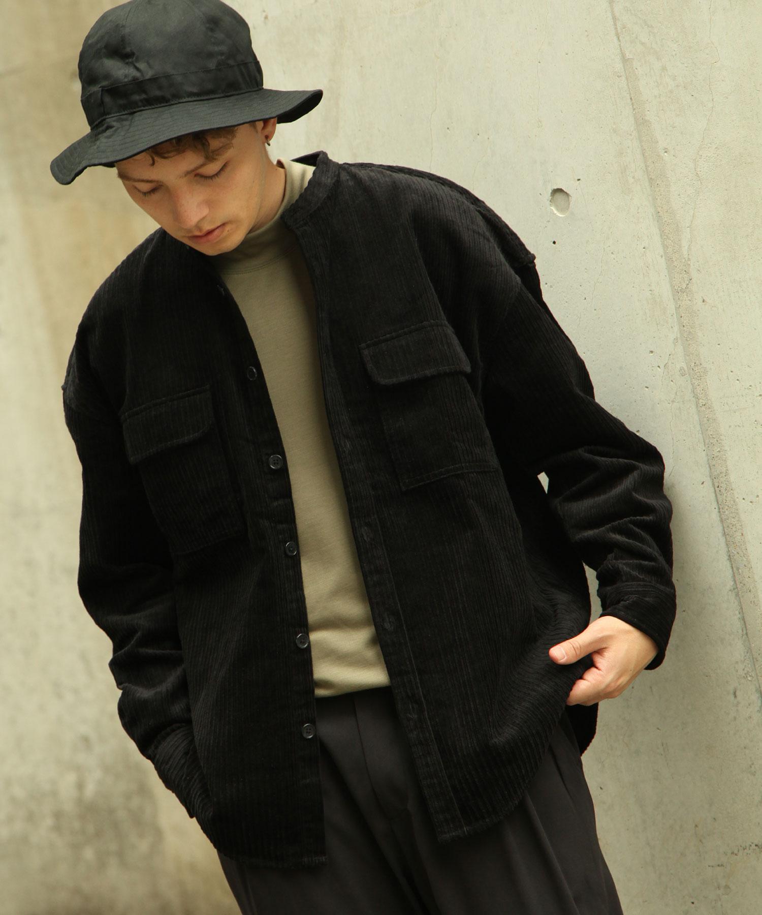 【Nilway】長袖襯衫 燈芯絨 6