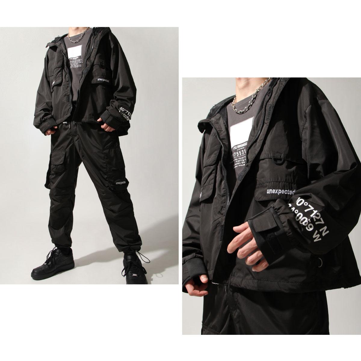 【New】ZIP寬版登山外套 螢光 大口袋 7