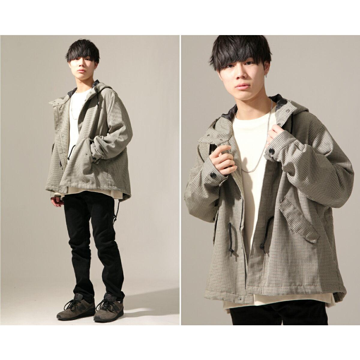 【New】ZIP 摩斯MODS大衣 短版 1