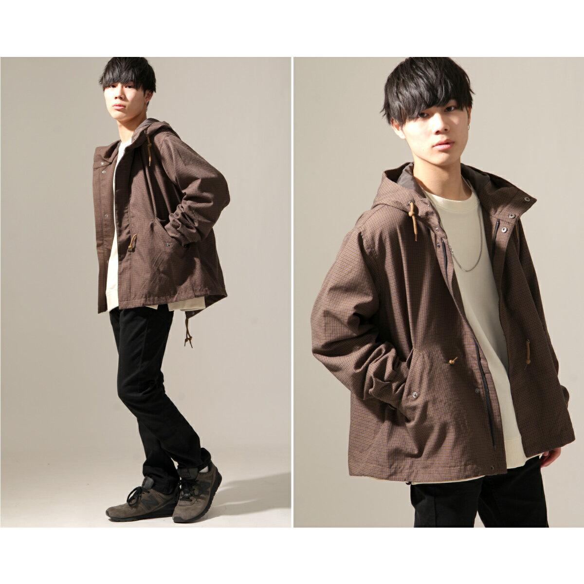 【New】ZIP 摩斯MODS大衣 短版 3