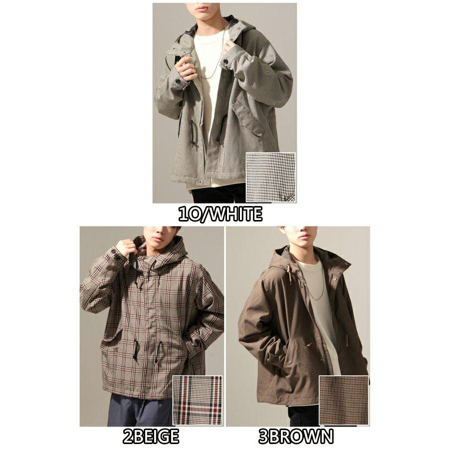 【New】ZIP 摩斯MODS大衣 短版 5